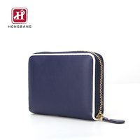 Amazon Hot Selling Huge Storage Capacity RFID Zipper Wallet For Women Card holder Wallet