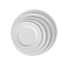 New Product Ideas 2019 Factory Wholesale Restaurant Crockery Dish Set, Manufacturer White Hotel Porcelain Ceramic Dinner Plate<