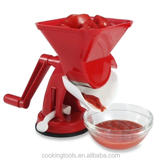 Factory Price Plastic Manual Vegetable Tomato Squeezer For Tomato Sauce Maker