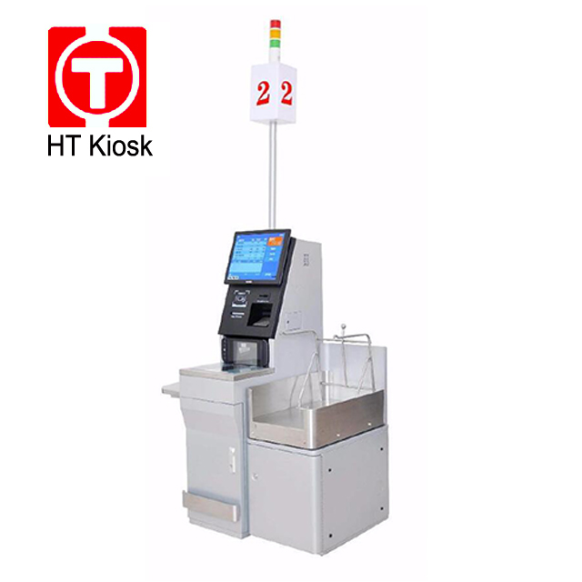 Self Service Payment Kiosk With 17 Touch Screen Self Check out Kiosk