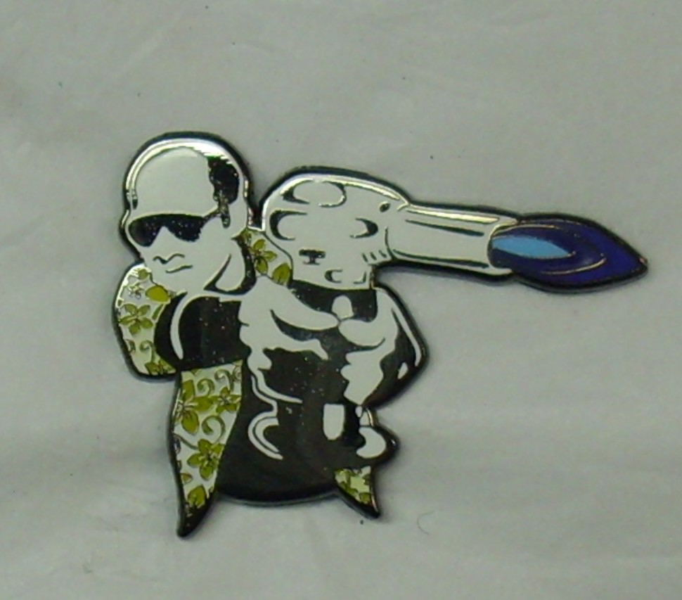 Best halloween gifts plastic led lapel pin for clothes