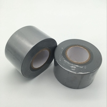 PVC Duct Tape Grey PVC Pipe Wrapping Tape PVC Joining and Sealing Tape  48mm*30m free sample