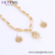 set 50 xuping 2019 new design wedding elegant jewelry set