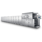 Wanshunda Fully -Automatic Gas Type Wafer Production Line / Wafer Biscuit Machine Plant