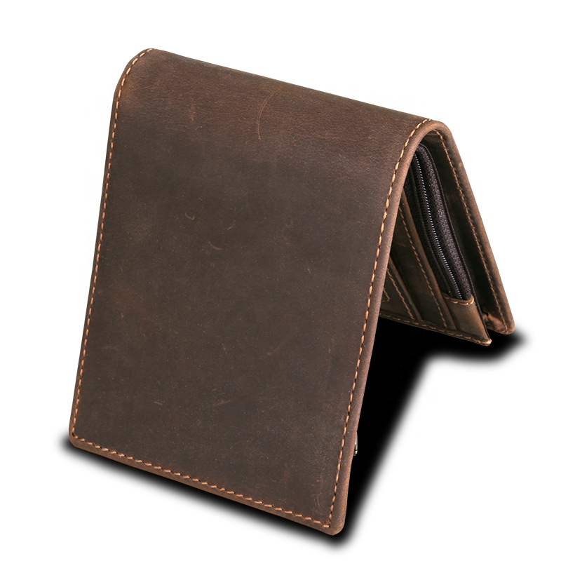Manufacturer Wholesale Custom RFID Blocking Leather <strong>Wallet</strong> For Men Slim <strong>Wallet</strong> Leather Card Holders Cash Holders No Logo