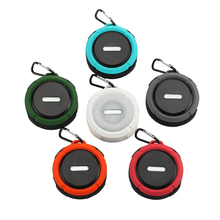 Amazon 2019 Trending Producten Draadloze Auto <span class=keywords><strong>Bluetooth</strong></span> Speaker Outdoor Sport Draagbare C6 <span class=keywords><strong>Waterdichte</strong></span> douche Speakerwith zuignap
