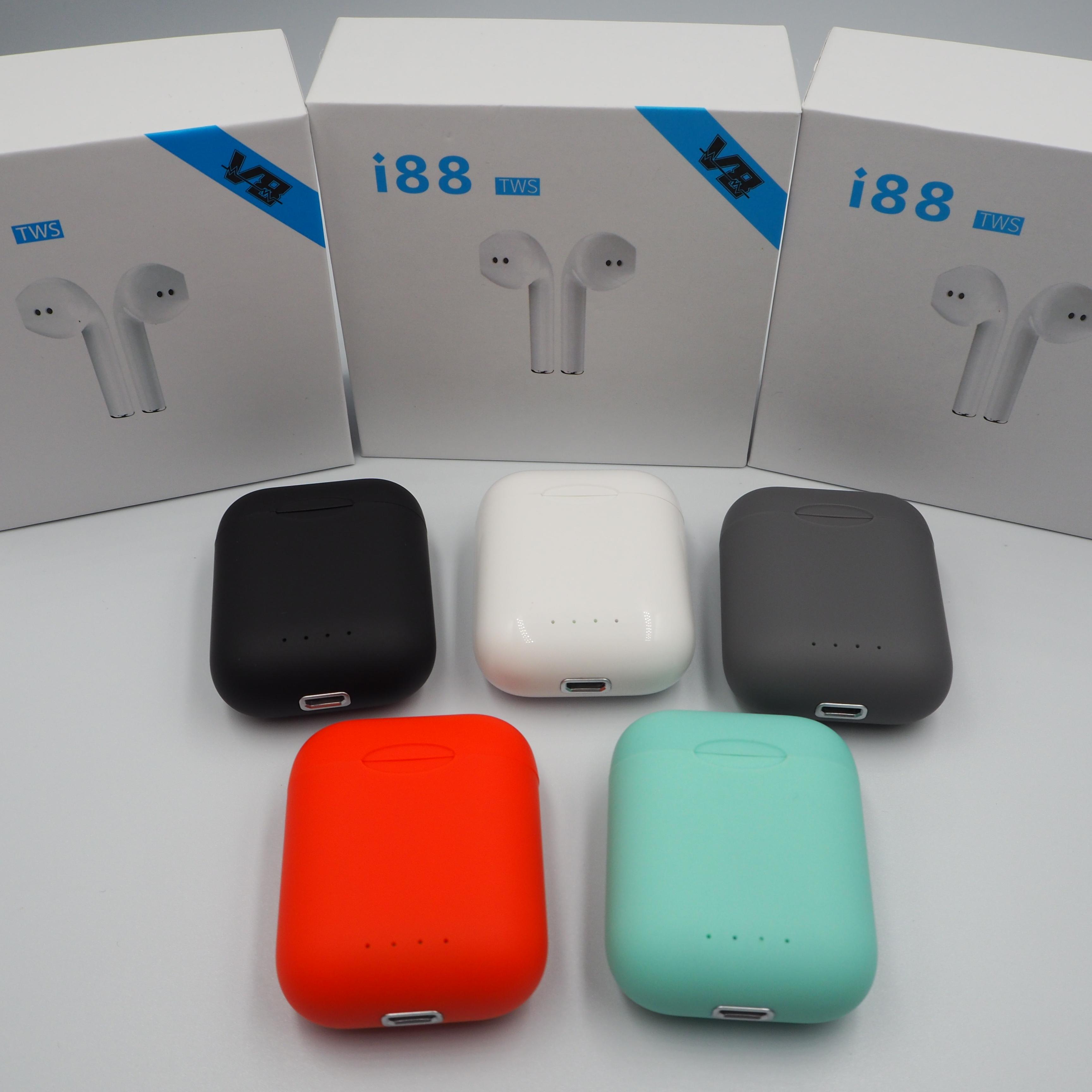 I88 Tws Audifonos Trending 2019 Free Shipping Oem Bluetooth Earbuds фото