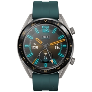 Authorised Dealer HUAWEI GT Sport Wristband 1.39 inch AMOLED 5ATM Waterproof Wristband Fitness Tracker Smart Watch  (Green)