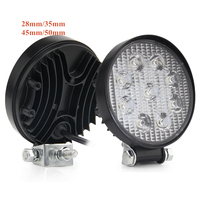 LOGO 40W 4.3inch 12v 18W 20W 27W Spot Combo Lighthouse off road working light Flood Beam truck led work light for car
