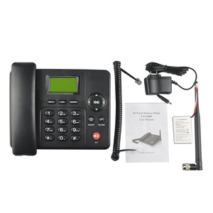 4G VOLTE Black color Fixed Wireless Desktop Landline phone