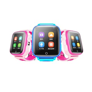 T2 New high quality 4G child positioning watch waterproof ce rohs kids smart watch