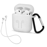 Air Pods Protective Box Case 5 in 1 Wireless Headphone Case Headset Anti-lost rope for iPhone earbuds Silicone Case