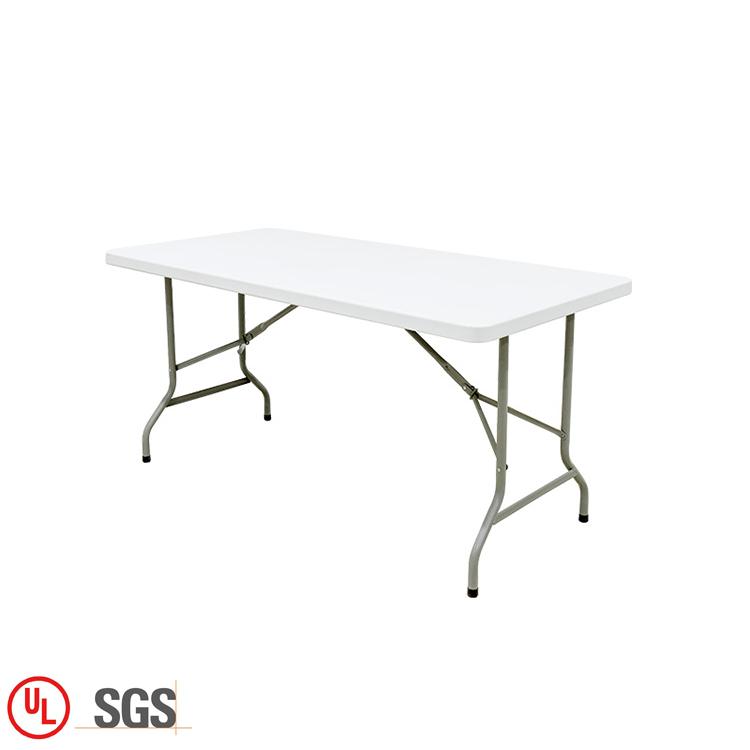 Großhandel Moderne Weiß Heavy Duty Folding Faltbare Esszimmer Tisch