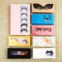 Custom logo magnetic empty paper lash package eyelash box