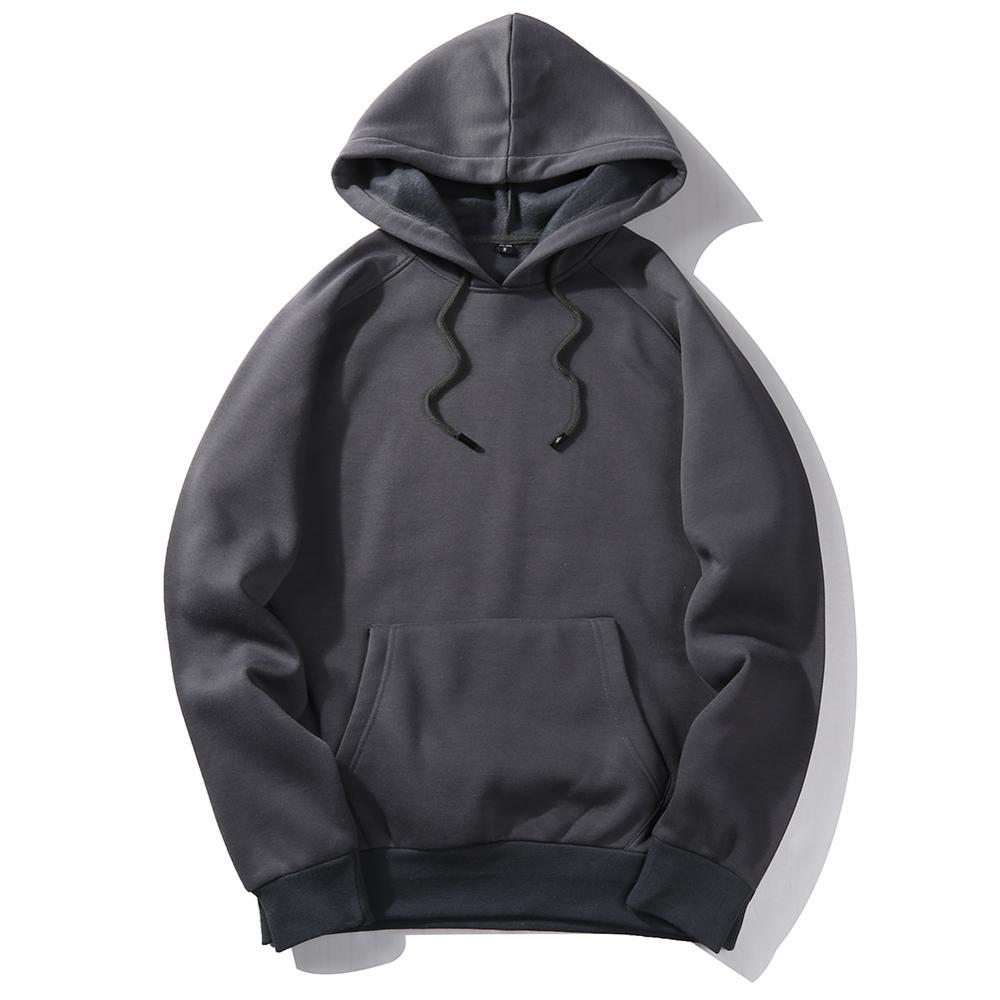 Custom made hoodies leeg hoge kwaliteit hoodies groothandel vlakte hoge kwaliteit hoodies