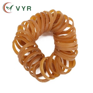Cheap Food Grade Rubber bands Custom printed Width Brown Rubber bands, sling shot rubber band