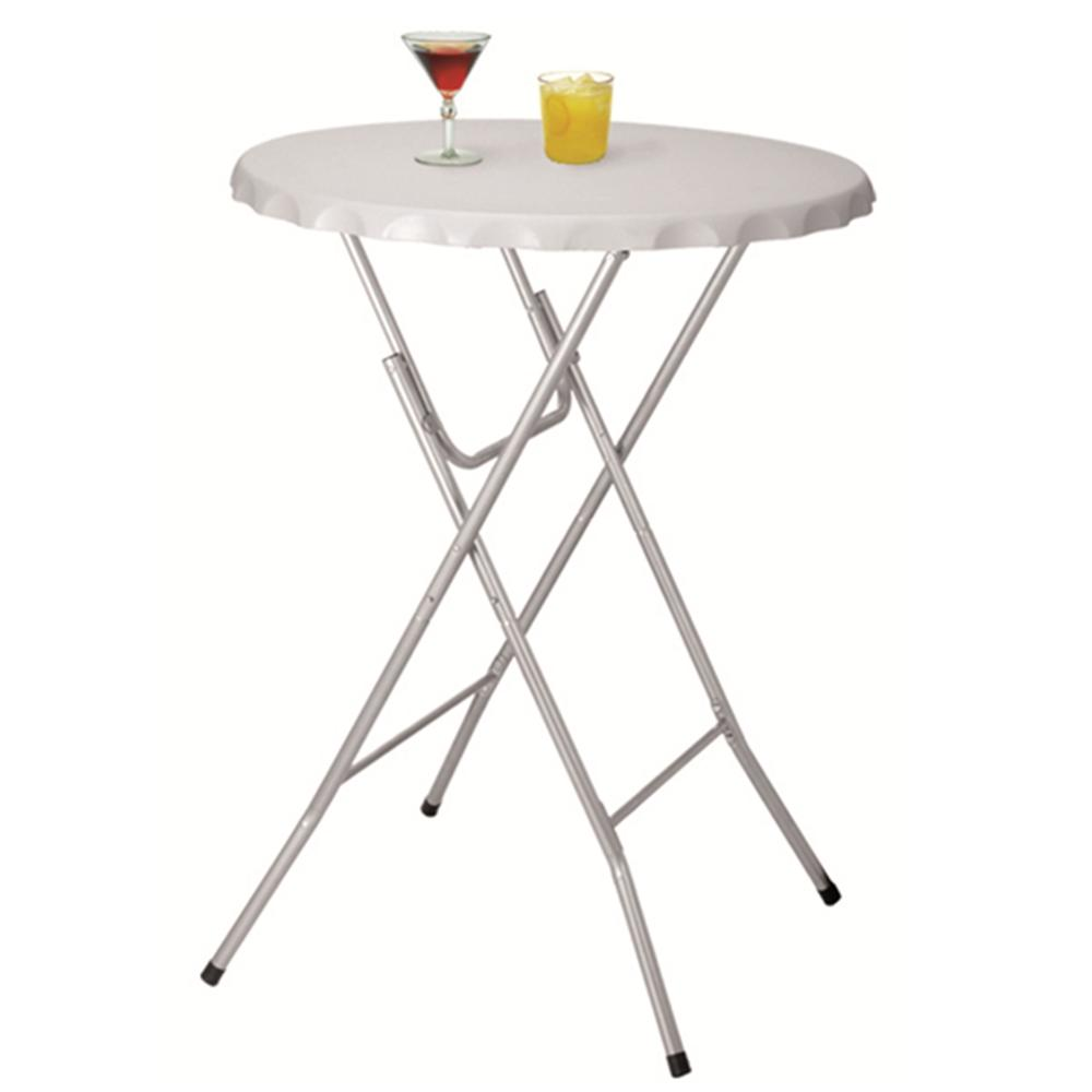 - Small Round White Folding Plastic Garden Foldable Table - Buy