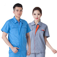 2019 High Quality Workwear Engineering Working Uniform Collar Uniform