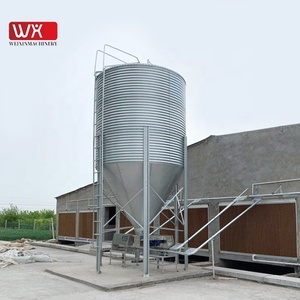 Poultry and livestock food storage feed bins 10 tons silos for sale