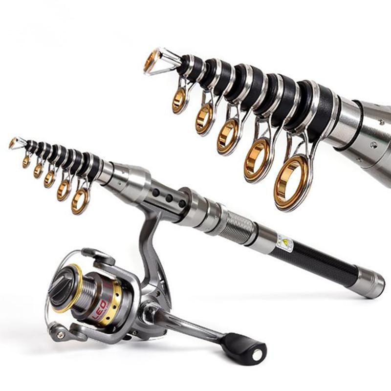 Alibaba.com / Carbon Fishing Rod 1.5M 1.8M 2.1M 2.4M Fishing Rod Carbon Fiber Telescopic Rods Ultra Light Carp Fishing Pole