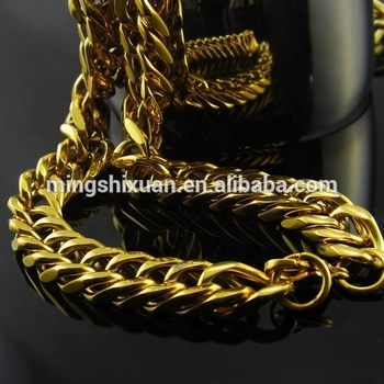 collier or 24 carats homme