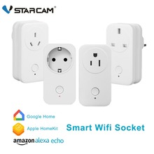Vstarcam Smart Stecker Outlet Wifi smart steckdose Mit Amazon Alexa Echo Google Hause Apple-Home Kit