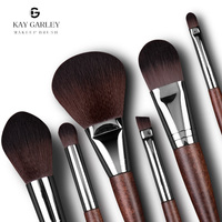 High Quality Single Make-Up Brush/Wooden Hair Handle Professional Facial Makeup Brush/Single Foundation Eyeshadow Make Up Brush