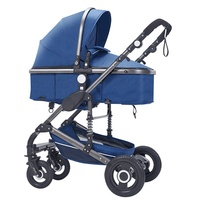 2019 European Baby Stroller Trolley Deluxe Baby Carriage 3 in 1