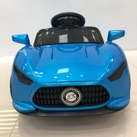 Factory wholesale cheap price LED flashing wheel children electronic toy car, kids baby remote control ride+on+car