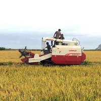 2.2m cutting width mini combine harvester machine price list for rice/wheat/oat/barly/corn
