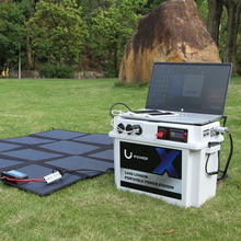 Portable power oplossing voor camping, power station, opvouwbare zonnepaneel