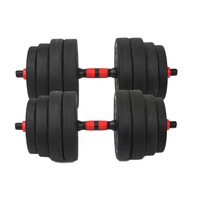 Home or Gym Fitness Training Adjustable Cement Dumbbell Set For Sale