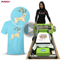 Wholesale Digital Printing Machine Banner Printer Cotton Fabric Printers Directly Print On Garments Clothes