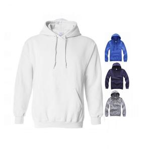 Men pullover hoody oem logo printed on plain blank custom hoodies