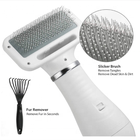 Dog Slicker Brush Pet Grooming Brushes Shedding with Low Watts Gentle Hair Dryer