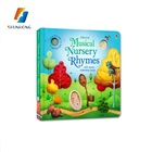 Hot sale custom kids book children english story board book printing service