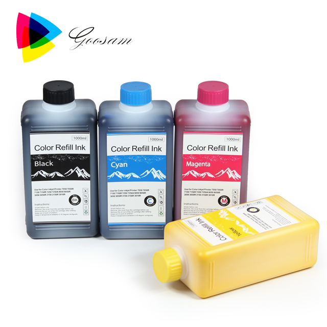 Olie Pigmentinkt voor ComColor 7250 Refill Inkt Chips Cartridges