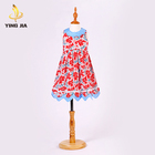 Professional toddler boutique designs lovely new style baby girls dresses