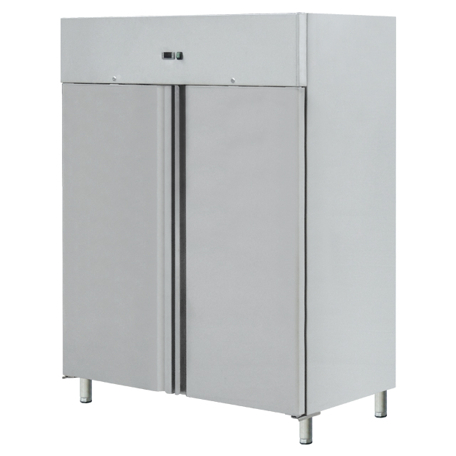Restaurant Equipment Stainless Steel <strong>Refrigerator</strong> Freezer / Double Door <strong>Refrigerator</strong>