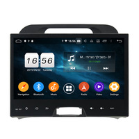 KD-9508 Rockchip PX5 NXP6686 radio split screen Android car dvd for Sportage 2010-2012