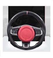 Manufacture Real Carbon Fiber Steering Wheel Fit For Jaguar  XF XE XJ F-TYPE XK