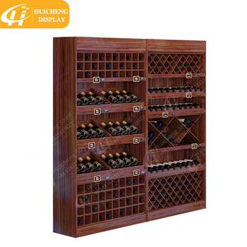 Good Quality Wall Mounted Wine Display