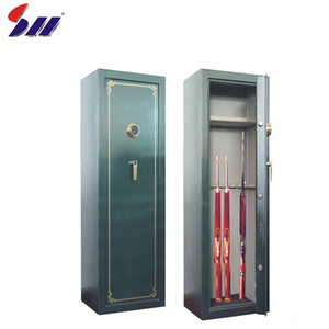 Good design high quality mechanical lock hidden used security weapons rifle gun safe box for sale