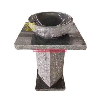 Popular design Low price solid surface stone wash basin
