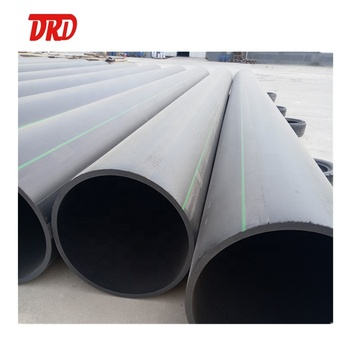 High quality 450mm water pipe hdpe 18 inch hdpe tube