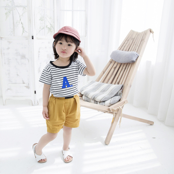 wholesale Short Sleeve 100 Cotton Girls Summer Custom T Shirt Kids T Shirt