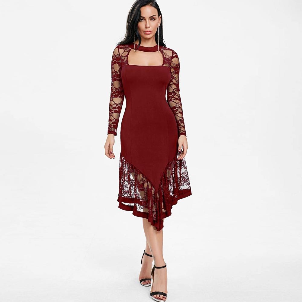 889bcaa18e5 Venta al por mayor vestidos de coctel para gordas-Compre online los ...