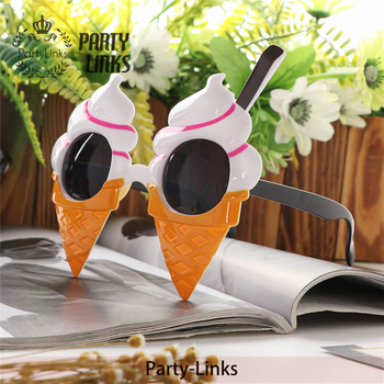 Yiwu Ice Cream Shape Frame Custom Design Party Glasses Festival Wear Eyeglasses