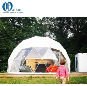 6m diameter Geo dome house canvas glamping rest dome tent
