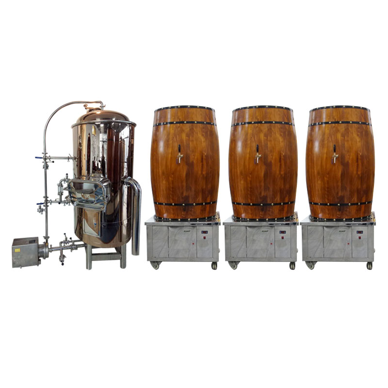 Stainless steel stainless steel machine to make craft beer with different capacities
